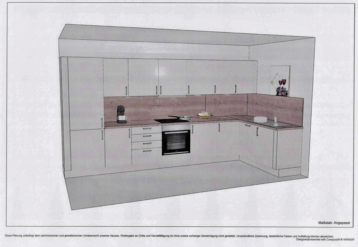 Küche Wohnung 15