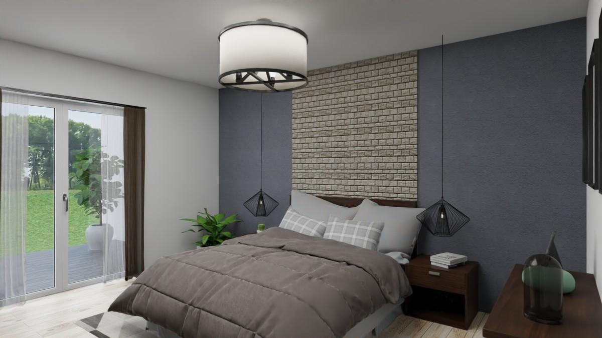 Mögliche Einrichtung Schlafzimmer