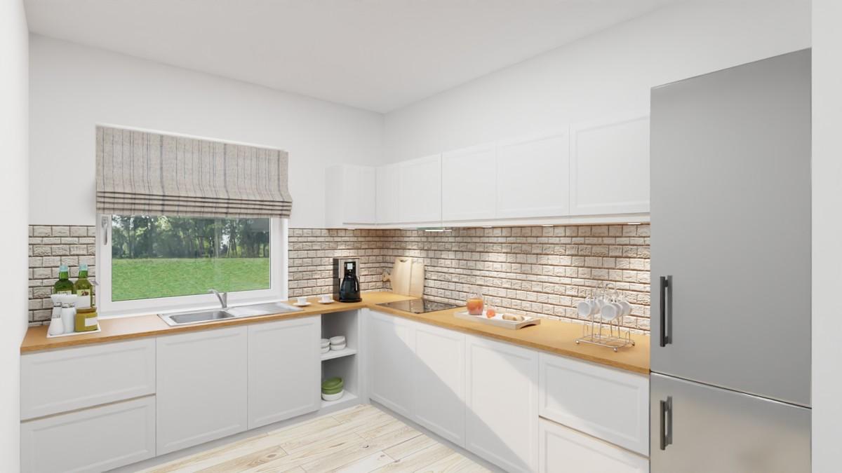 Mögliche Einrichtung Küche
