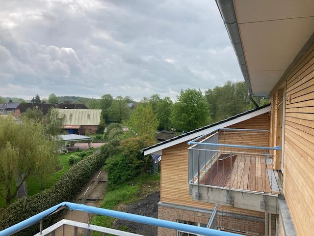 Blick vom Balkon Richtung Süden