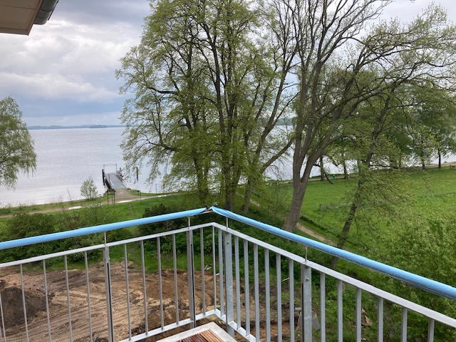 Blick vom Balkon Richtung Osten